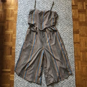 Mendocino Striped Jumpsuit Chiloah brand in Large
